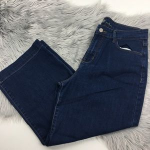 Old Navy jeans high waisted capris size 8
